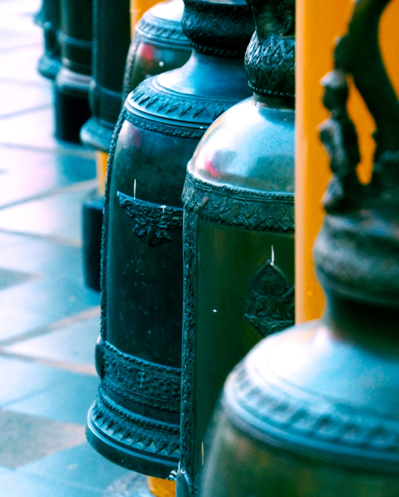 The temple bells at Doi Suthep