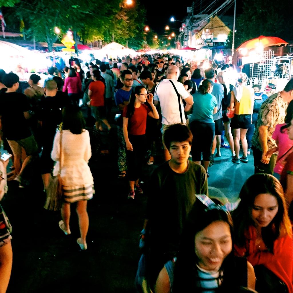 The bustling Chiang Mai Night Market