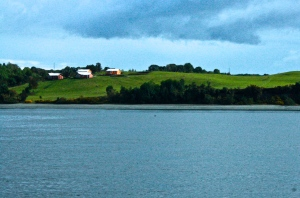 ferry ride to chiloe