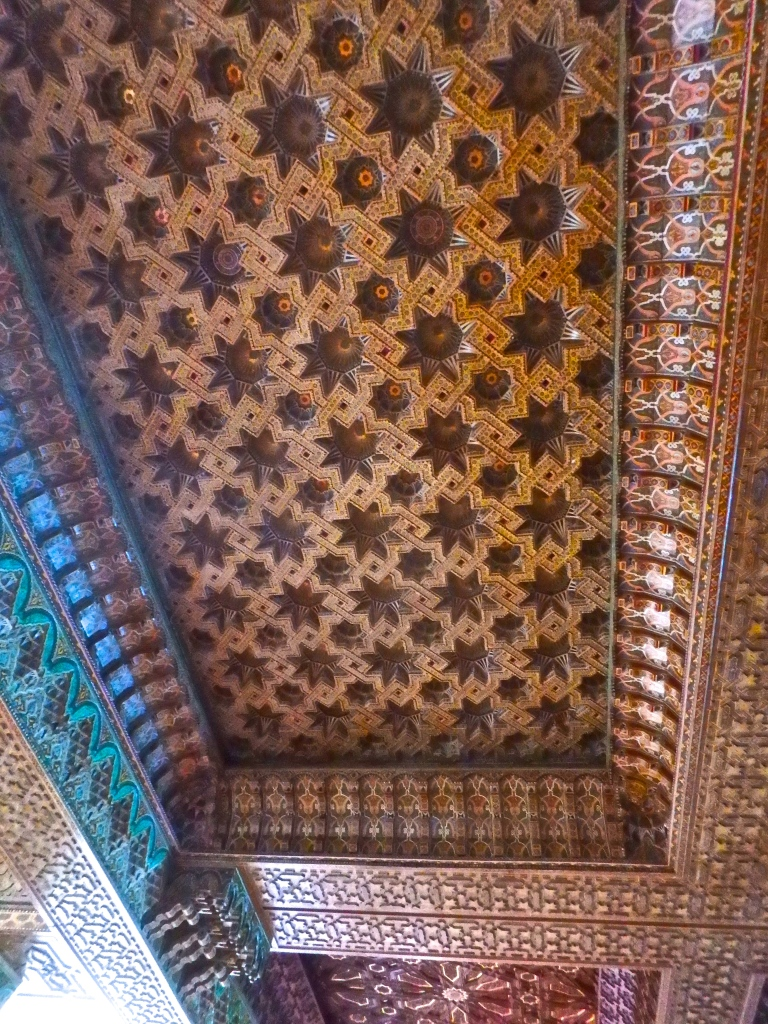 Interior detail of the mosque