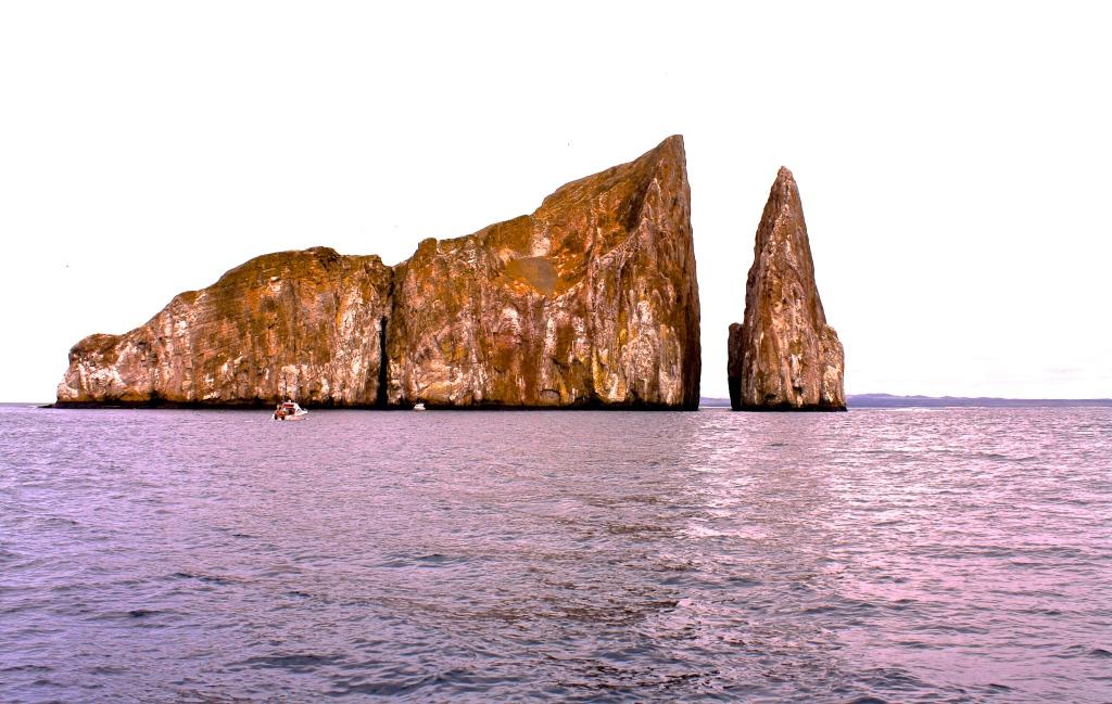 Kicker Rock in the Galapagos