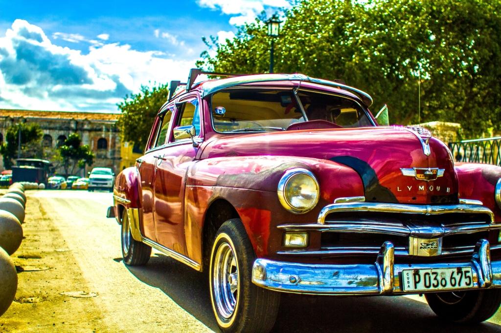 Antique Car Havana Cuba