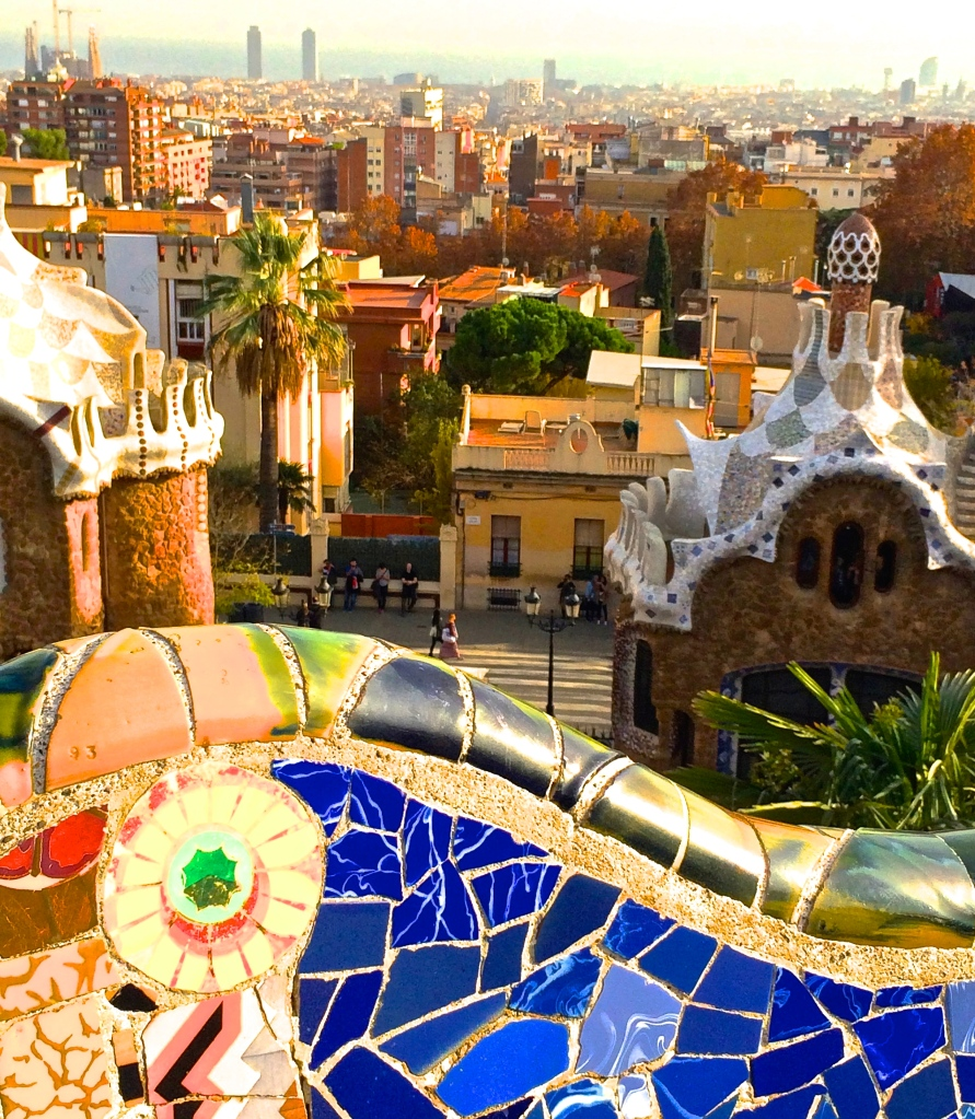 The view from Park Güell