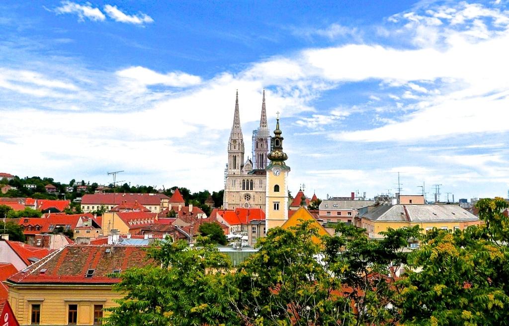 Zagreb City landscape