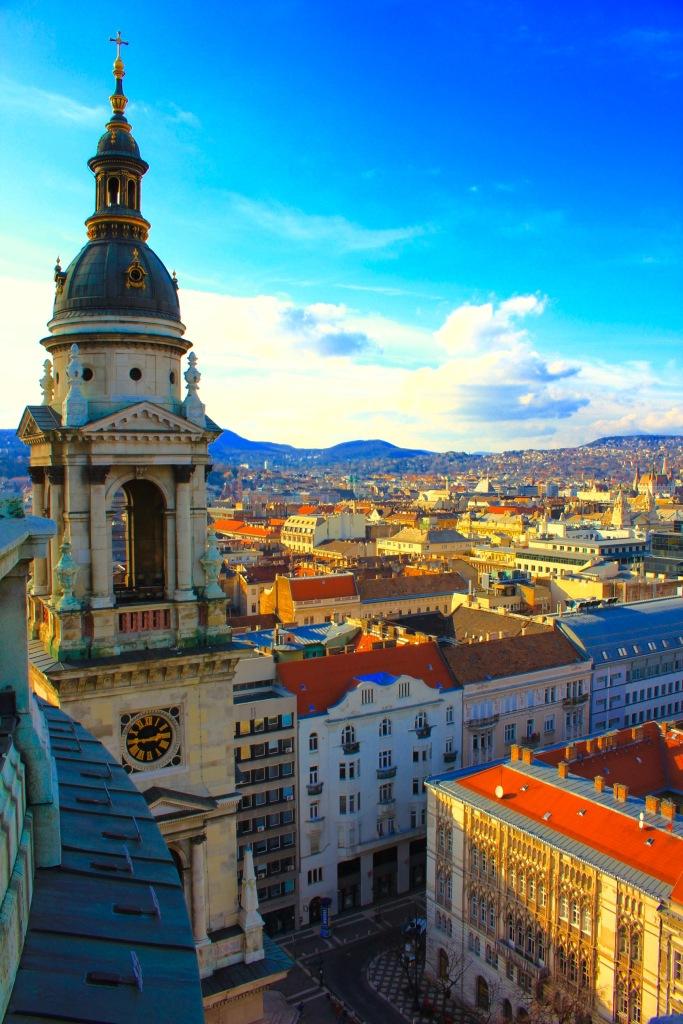 Budapest Basilica View