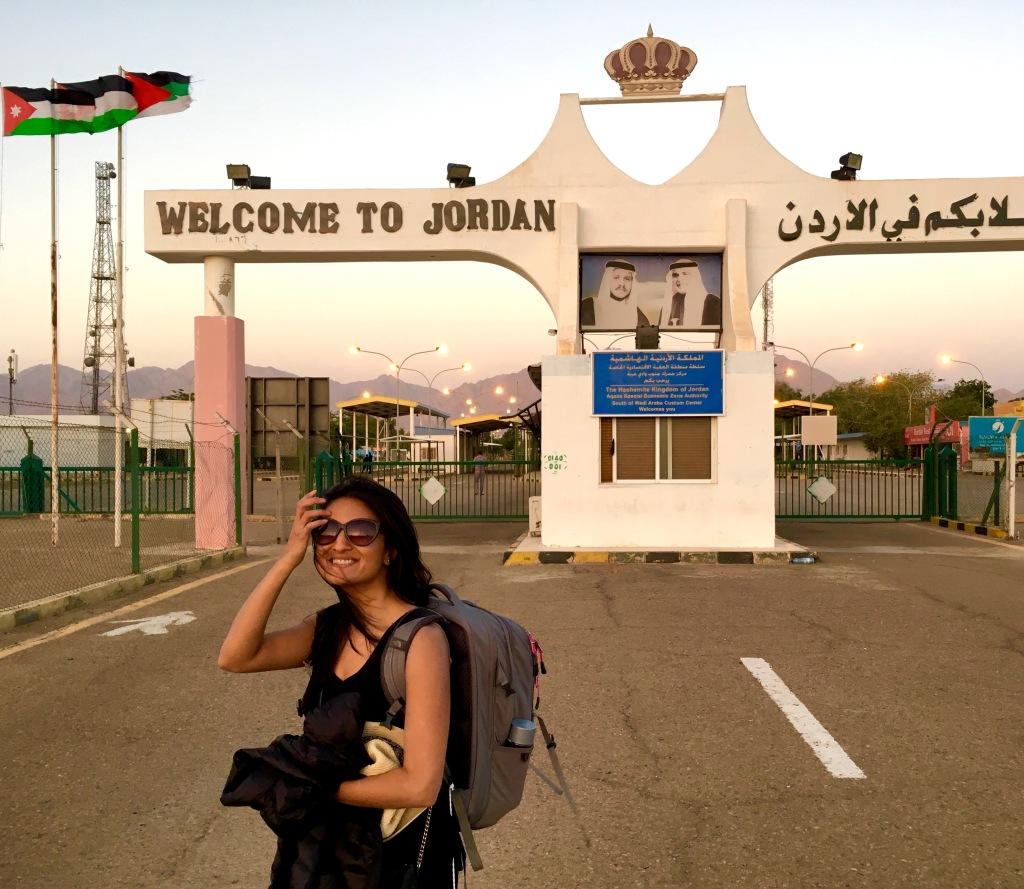 Israeli Jordan Border Crossing