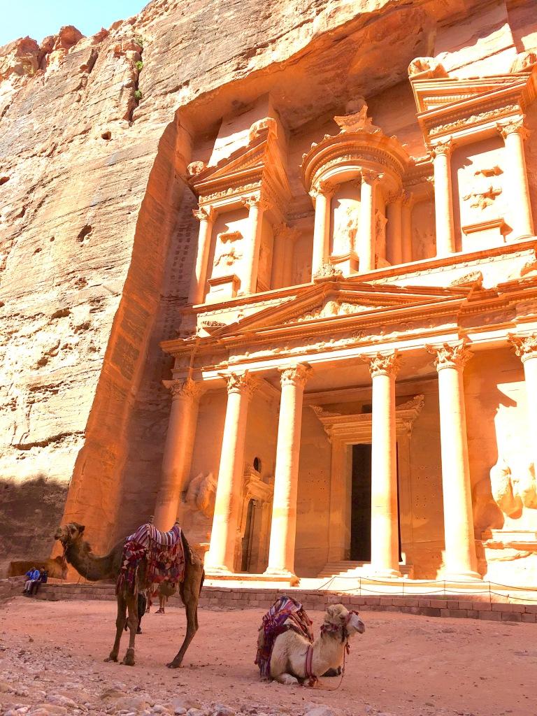 Treasury at Petra Jordan