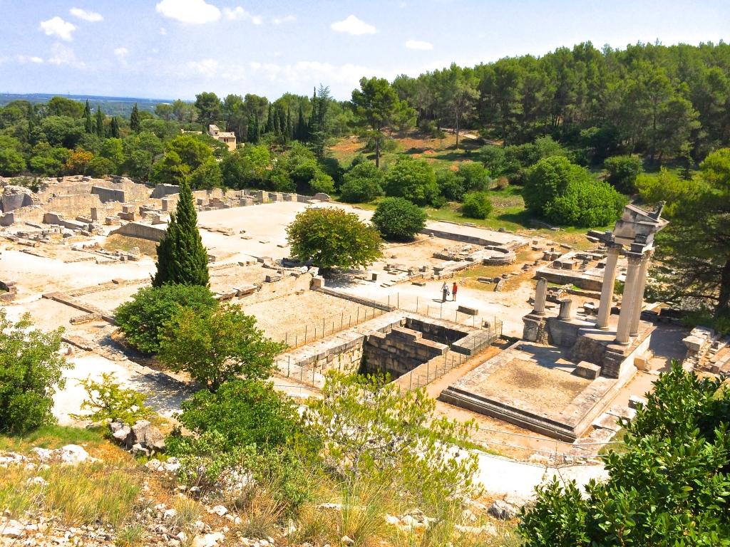 Glanum Roman Ruins France